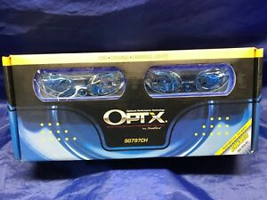 Optx Sg797ch By Streetglow 55w H3 Xenon White Hid Fog park driving Lights new