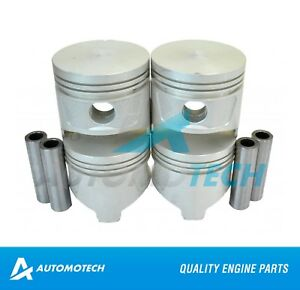 Size 030 Piston Set For Chevrolet Blazer Isuzu Pickup 1 9l