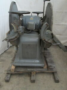 Oliver Large Double Disc Sander # 41-D 240V 3Ph 7.5hp (100979)