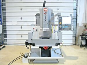 Haas Tm 1 Toolroom Cnc Mill Vertical Machining Center 143 Spindle Hours Cat 40