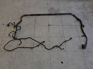 2007 Corvette C6 Transmission Tunnel Torque Tube Wiring Harness Manual Aa6303