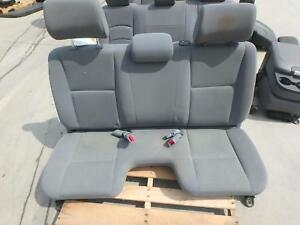 05 08 Toyota Tacoma Front Bench Seat Grey Cloth Manual Oem