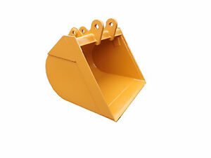 New 36 Case 590sl Backhoe Bucket Without Teeth Includes Coupler Pins