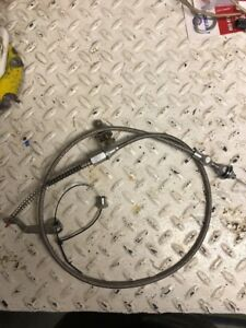 1987 1993 Mustang Lokar Aod Kick Down Cable