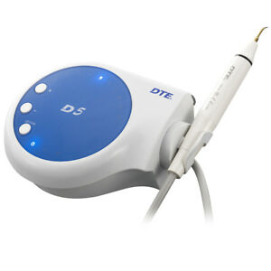 Woodpecker Ultrasonic Piezo Dental Scaler Dte D5 Satelec Teeth Cleaner 6 Tips