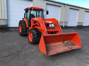 Kubota M8200 Dtc 4wd Tractor With Cab A c Heat Foam Filled Tires
