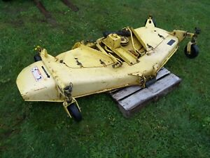 John Deere 72 Mower Deck 755 855 955 Jd Mowing Tractor With Manual Will Ship