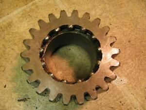 Minneapolis Moline Mm M670 Gas Tractor Top Transmission 22 Tooth Gear