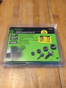 Greenlee Slug Buster Manual Knockout Punch Kit 7235bb 1 2 To 1 1 4 Usa New