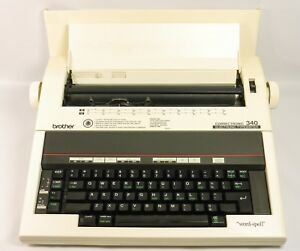 Brother Correctronic 340 Electronic Typewriter French Qwerty Tested Working