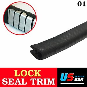 16feet Car Auto Door Edge Guard Rubber Seal Trim Lock Molding Strip All Weather