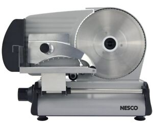 Electric Meat Slicer Commercial Deli Cheese Cutter Heavy Duty Stainless Steel