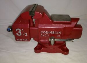 Columbian 3 5 Vise By Wilton Usa Made Restored