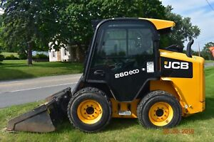 2013 Jcb 260 Used Diesel Skid Steer 600hrs Skid Loader