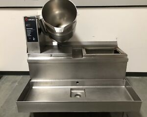 Groen Tdb 40 Steam Jacketed Manual Tilt Kettle 10 Gallon 40 Quart 208v
