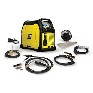 Esab Rebel Emp 285ic Mig stick tig Welder And Free Helmet Bundle 0558102554