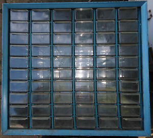 8nn49 Akro mils Parts Cabinet steel 16 X 15 X 6 Overall 60 Drawers