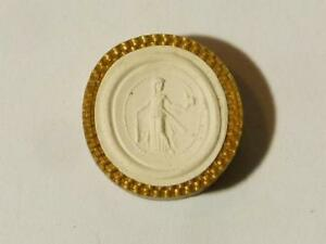 19thc Intaglio Plaster Molded Tassie Actor As Omphale Grand Tour Seal 17