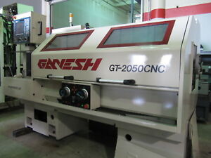 2006 Ganesh Gt 2050 Combination Manual Cnc Teach lathe 10 chuck