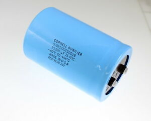 Cde 15000uf 75v Large Can Electrolytic Capacitor 500153t075dd2b