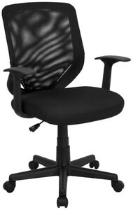 New Cool Mesh Back Swivel Gaming Home Office Desk Computer Task Chairs With Arms