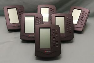 Polycom Soundpoint Ip 601 650 670 Expansion Module With Stands lot Of 6