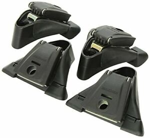 Yakima 8000124 Roof Rack Q Tower Feet Mounting Clips Kit 4 For Roundbars