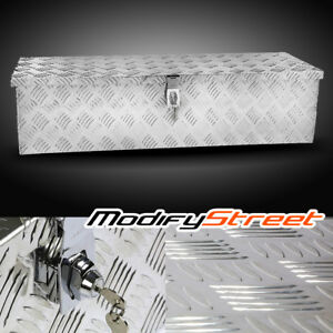 39 Heavy Duty Silver Aluminum Tool Box Truck Storage Underbody Atv Rv Trailer