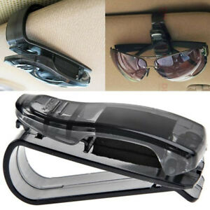 Auto Sun Visor Clip Holder Storage Mount For Sunglasses Glasses Car Accessories