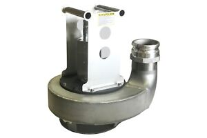 4 Discharge Hydraulically Powered Submersible Trash Pump 316 Stainless Steel