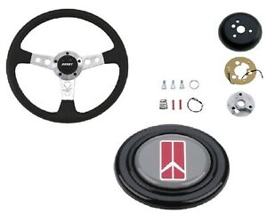 Grant Collector s Steering Wheel installation Kit oldsmobile Horn Button For 442