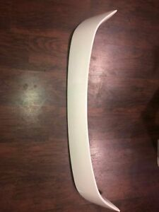 Mazda 3 2004 2005 2006 Sedan Rear Spoiler Trunk Wing Tail Color 34k White