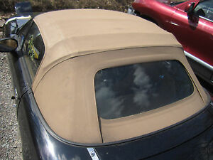 Miata Mx 5 Mx5 Convertible Roof Soft Top Frame Glass Back Window Cloth Cover Car