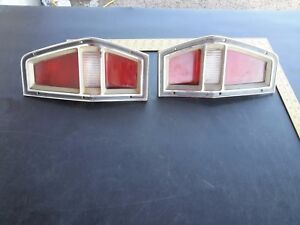 Vintage 72 80 Ford Pinto Wagon Tail brake back up Light Assembly Left Right Set
