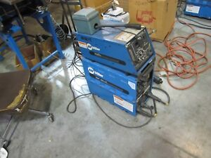Miller Xmt 300 Cc Power Supply Intelitig 4 Control Automation Package Cables
