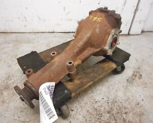 08 16 Subaru Impreza 2 5l Rear Differential Carrier 4 11 Ratio W O Turbo Oem