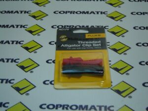 Ac175 New Fluke Threaded Alligator Clip Set ac70a