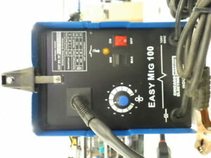 Chicago Electric Easy Mig 100 Welding 120v 90amp Flux Wire Welder