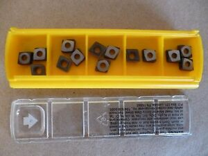 Kennametal Ccgt060208lf Kc5010 Grade Carbide Inserts 14pcs 1310728