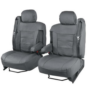 Leatherette Car Seat Covers For Armrests Built in Seat Belts For Gmc Trucks