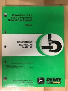 John Deere Technical Manual 8 1 Liter Compressed Natural Gas Engines Ctm87