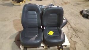 02 03 Ford Explorer Mountaineer Front rear Leather Seats Set Black Heated Memory