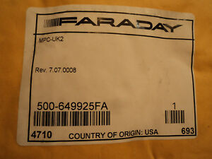Faraday Mpc uk2