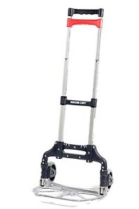 Folding 150 Lbs Capacity Cart Utility Grocery Extending Holder Mobile Carrier