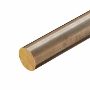C630 Nickel Aluminum Bronze Round Rod Diameter 5 Inch Length 4 Inches