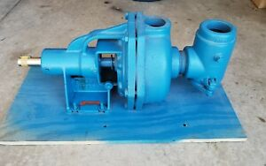 Burks Condensate Turbine Boiler Feed Pump Ed12m E27m Base Mounted 1 1 8 Shaft