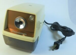 Panasonic Electric Pencil Sharpener Vintage Great Working Made In Japan Fst Shp