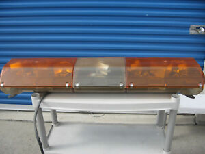 Code 3 Mx 7000 Emergency 47 Light Bar Amber Tow Truck Rollback Utility