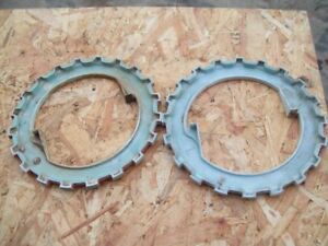 Original Ford Corn Planter Used Pair Of Seed Corn Plates Ford Part 109786 a2