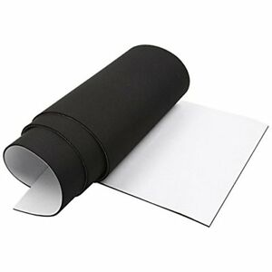 Closed Weather Stripping Cell Foam Rubber Padding Roll Self Adhesive Non slip